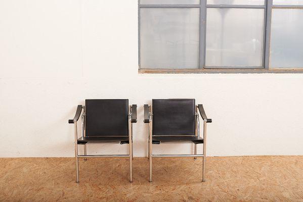 Vintage LC1 Armlehnstühle von Le Corbusier & Charlotte Perriand für ...