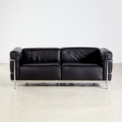 Lc3 Sofa By Le Corbusier Pierre Jeanneret Charlotte Perriand For Cina