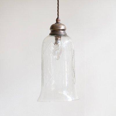De Lampes 2 À Verre Cloche En TailléSet Suspension Vintage hQCsrBotdx
