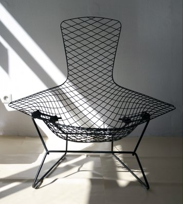 Chaise Oiseau Par Harry Bertoia Pour Knoll International 1966 1