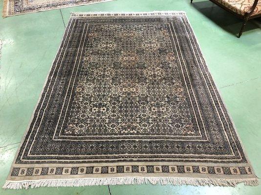 Vintage Wool Silk Rug For Sale At Pamono