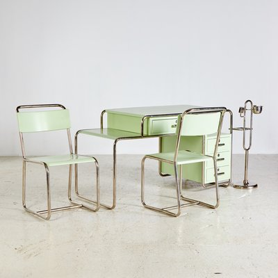 Bauhaus Arbeitszimmer Set Von Ideal Tubular Furniture Factory