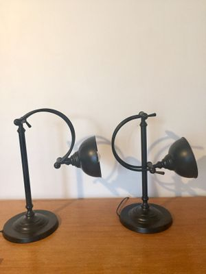 Industrial table lamps set of 2 for sale at pamono industrial table lamps set of 2 1 aloadofball Image collections