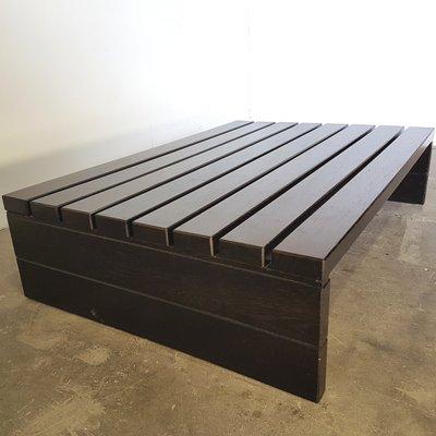 Table Massif1970s Vente Basse En De Lattes Wengé Pamono Sur rstxChQd