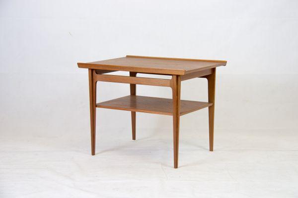 Mid Century Teak Side Table By Finn Juhl For France Son 1