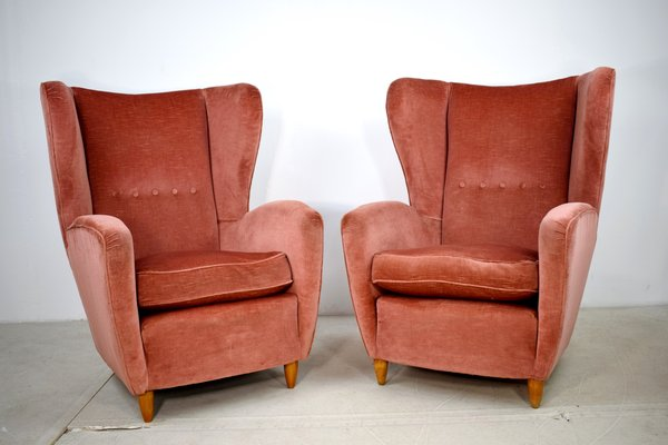 Vintage Armchairs 1950s Set Of 2 For Sale At Pamono