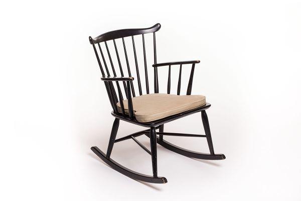 Vintage Schaukelstuhl dänischer vintage schaukelstuhl von børge mogensen für fdb mobler