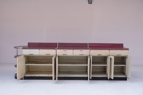 Mobili Anni 50 : Set di mobili da cucina di raymond loewy anni in vendita su