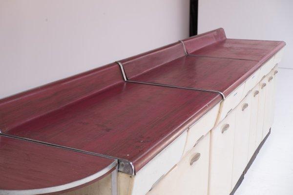 Mobili Anni 50 : Set di mobili da cucina di raymond loewy anni 50 in vendita su pamono
