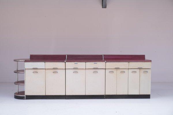 Set di mobili da cucina di Raymond Loewy, anni \'50
