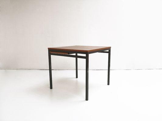 Ausziehbarer Quadratischer Esstisch Von Florence Bassett Knoll Für De Coene  1