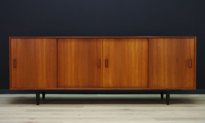 Danish Teak Credenza For Sale : Vintage danish teak sideboard by carlo jensen for p. westergaard