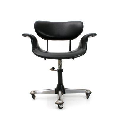 Italian Office Chair 1950s 1