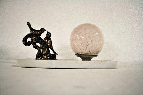 Deco1930s Lampe De Art Oiseau Bureau q34jL5AR