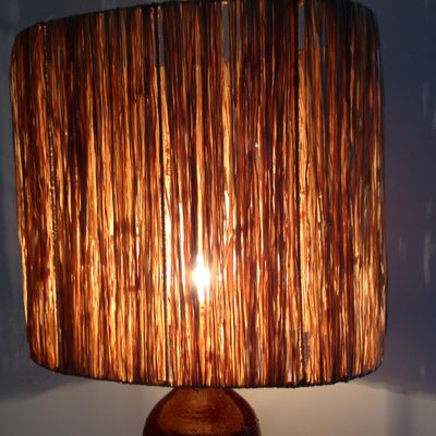 Large Ceramic Table Lamp By Vallauris, 1960s 7