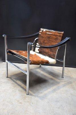 Fauteuil LC1 Par Le Corbusier Pierre Jeanneret Et Charlotte Perriand Pour Cassina 1976 1