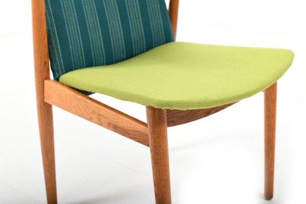 Chaise En Teckamp; Bureau ChêneDanemark1950s De CerxBod