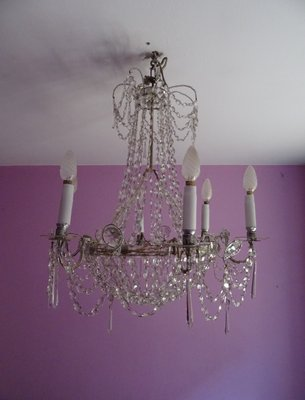 Antique glass chandelier from real fbrica de cristales de la granja antique glass chandelier from real fbrica de cristales de la granja 1 aloadofball Images