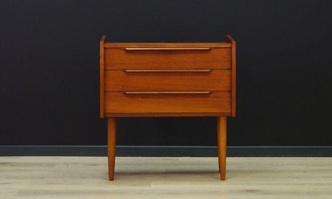 meuble vintage en teck danemark 1 - Meuble Vintage