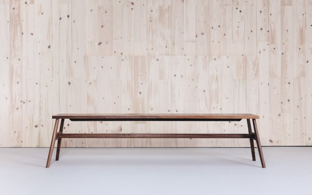 Dining Bench In Oak By Jacob Pugh
