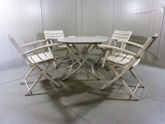 Sedie E Tavoli Vintage.Sedie E Tavolo Da Giradino Vintage Pieghevoli In Vendita Su Pamono