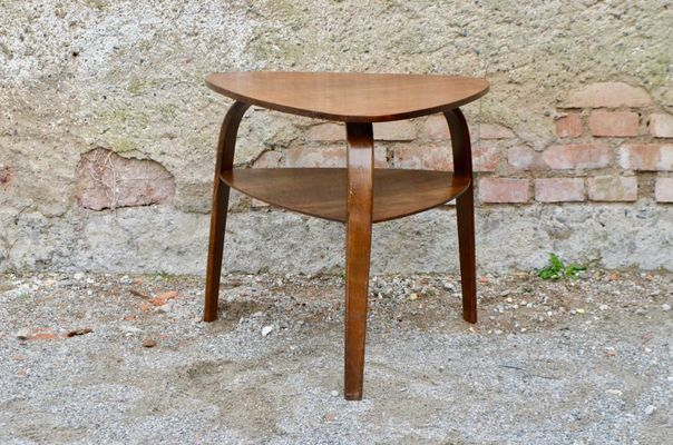 Tripod Coffee Table By Hugues Steiner, 1950s 1