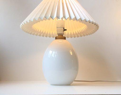 Vintage Egg Shaped Table Lamp By Poul Seest Andersen For Le Klint 2