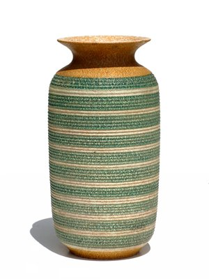 Large Art Deco Italian Pottery Vase 1930s For Sale At Pamono