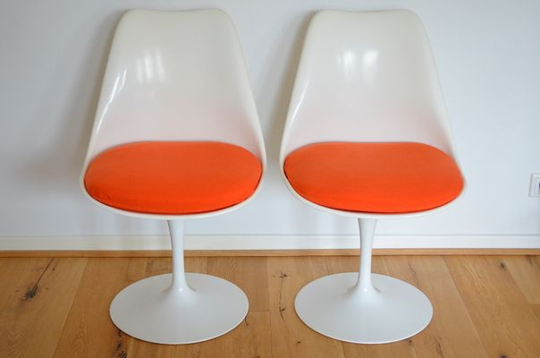 Tavolo Tulip Knoll : Tulip chairs von eero saarinen für knoll international er