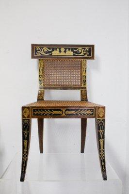 Enjoyable Mid Century Egyptian Revival Klismos Chair 1950S Set Of 2 Short Links Chair Design For Home Short Linksinfo