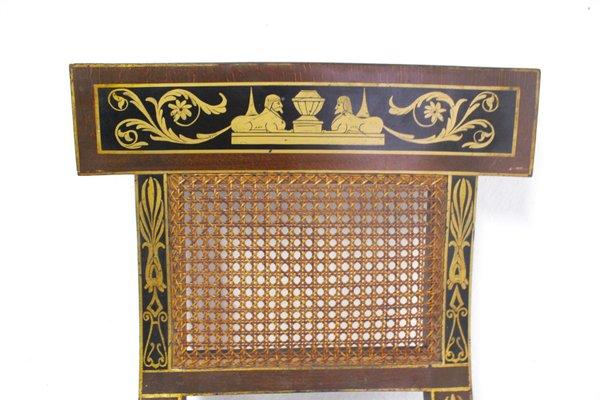 Astounding Mid Century Egyptian Revival Klismos Chair 1950S Set Of 2 Short Links Chair Design For Home Short Linksinfo