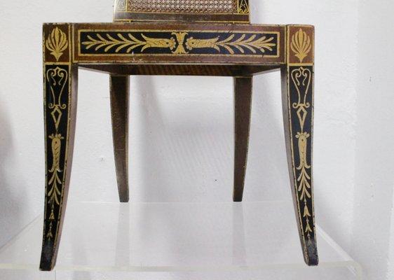 Amazing Mid Century Egyptian Revival Klismos Chair 1950S Set Of 2 Inzonedesignstudio Interior Chair Design Inzonedesignstudiocom
