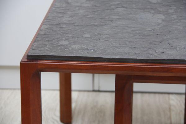 Vintage Side Tables In Wood U0026 Natural Stone