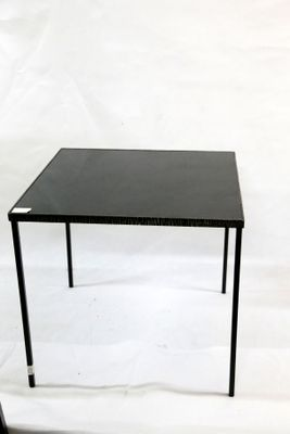 Hand Wrought Iron Side Table, 1970s 1