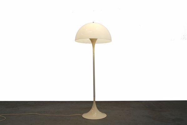 Lampada Vintage Da Terra : Lampada da terra panthella vintage di verner panton per louis