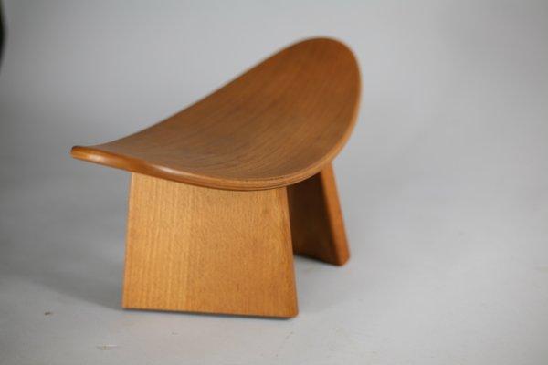 Sgabello In Legno Design : Sgabello meditation in legno di alain gaubert in vendita su