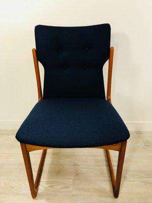 73e3ee2b42c67 Danish Teak Dining Chairs from Vamdrup Stolefabrik