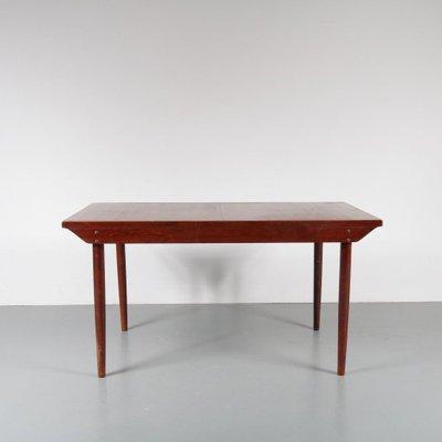 Tavolo da pranzo allungabile, anni \'50 in vendita su Pamono