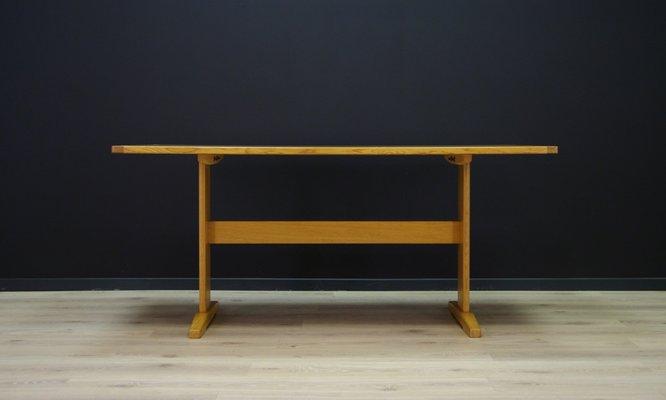 Miraculous Vintage Danish Ash Dining Table Download Free Architecture Designs Rallybritishbridgeorg