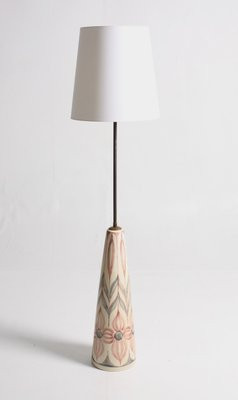 Large Vintage Ceramic Floor Lamp From Soholm For Sale At Pamono