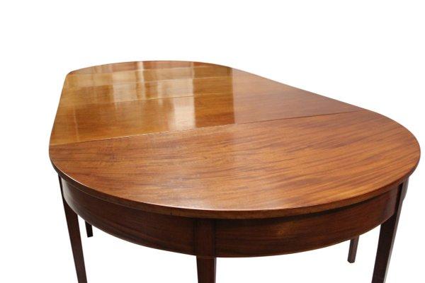 Grande Table de Salle à Manger Empire en Acajou, 1820s en vente sur ...