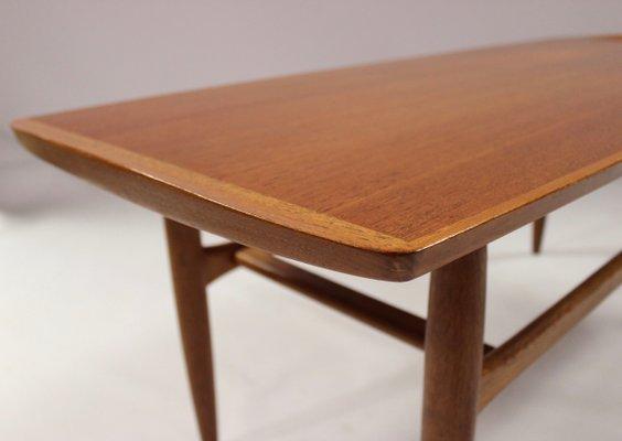 Danish Teak Side Table.Danish Teak Coffee Table From Jason 1960s