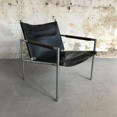 Niederländischer Sessel SZ02 Von Martin Visser Für U0027t Spectrum, 1960er 3