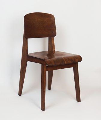 Chaise En Chne Par Jean Prouv 1940s 2