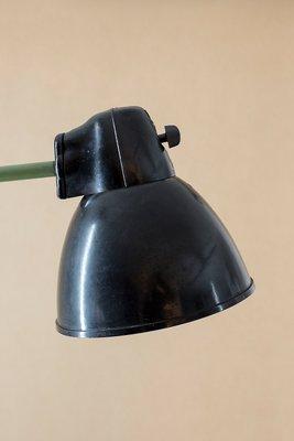 Industrielle Vera Mid Century Werkstattlampe von VEB Leuchtenbau, 1950er