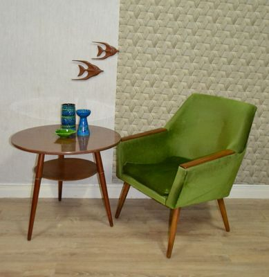 Green Mid Century Club Chair 1