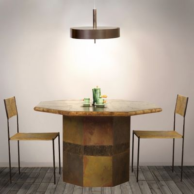 Natural Stone Dining Table By Marcus Kingma 1998