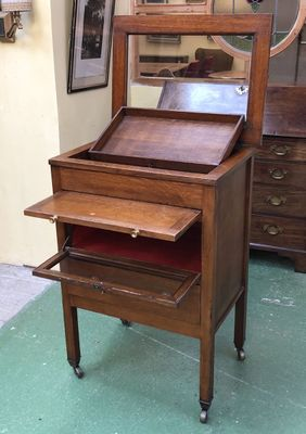Vintage Oak Dentist Cabinet For Sale At Pamono