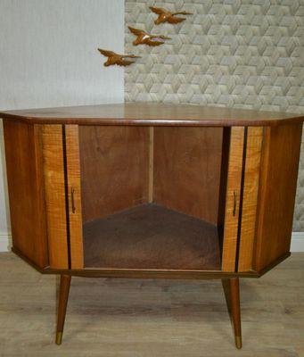Credenza ad angolo vintage, anni \'50 in vendita su Pamono