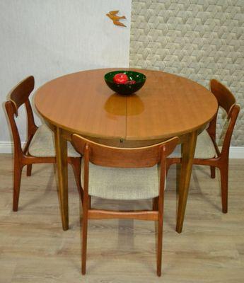 grande table de salle manger rallonge 1960s 2 - Grande Table Salle A Manger 2